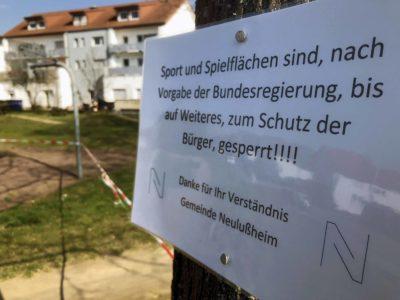 Sperrung Spielplatz Neulussheim 2020-03-19