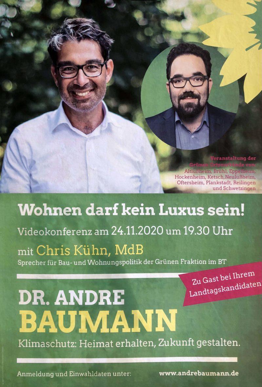 """Veranstaltungsankündigung: """"Wohnen darf kein Luxus sein"""""""