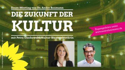 Petra Olschowski und André Baumann - Die Zukunft der Kultur - 2021-01-05