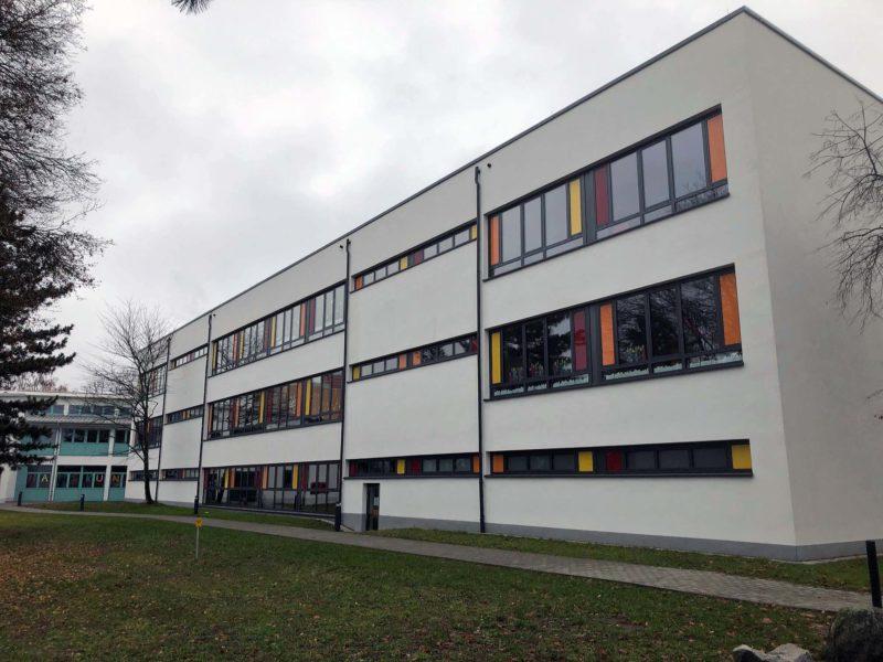 Lußhardt-Schule Ost-Ansicht