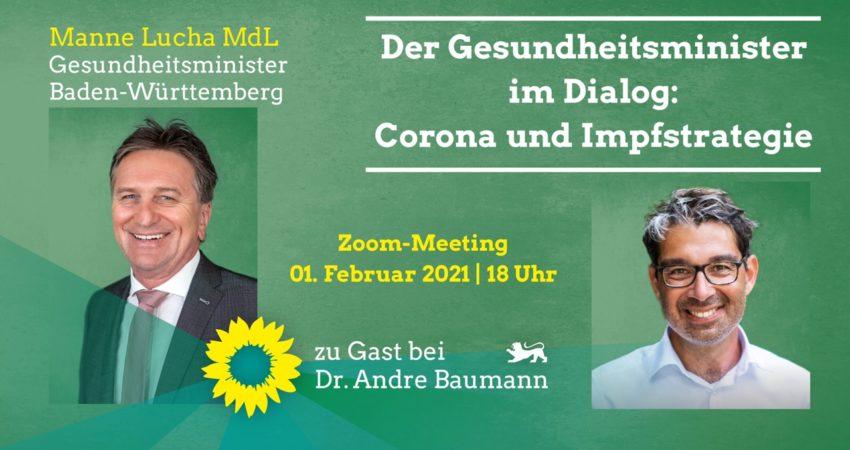 Manne Lucha Andre Baumann Online-Veranstaltung 1. Februar 2021