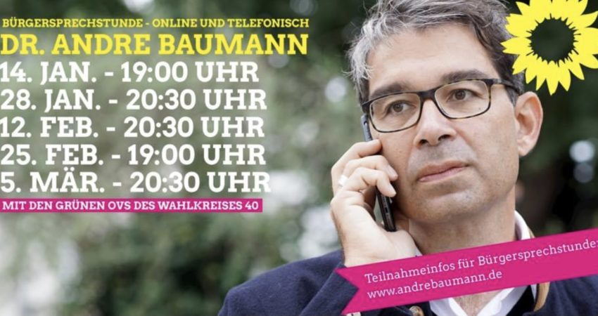 Andre Baumann Bürgersprechstunde