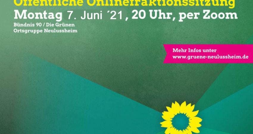 Sharepic für die öffentliche Fraktionssitzung vom 07.06.2021
